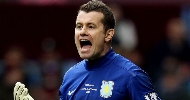 Shay Given: Hoping to keep Brad Guzan on the sidelines at Villa Park