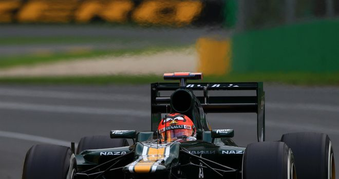 Heikki Kovalainen: failed to finish in Melbourne