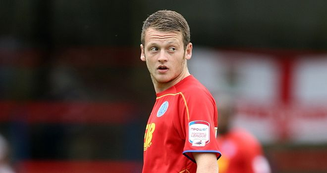 Jake Taylor: Links up with Crawley