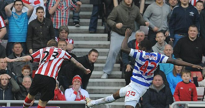 James McClean: Sunderland winger overjoyed with goal against QPR