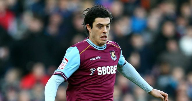James Tomkins: Hoping to help West Ham bounce back into the Premier League