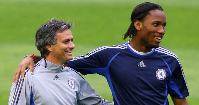 Jose Mourinho retains the fierce loyalty of former players such as Didier Drogba