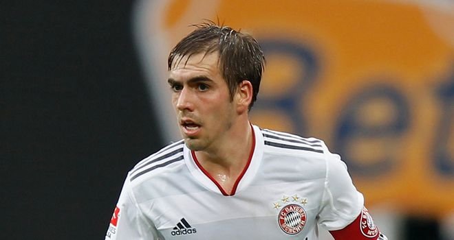 Philipp Lahm: Thinks Chelsea will not be strong enough to cope with Bayern Munich