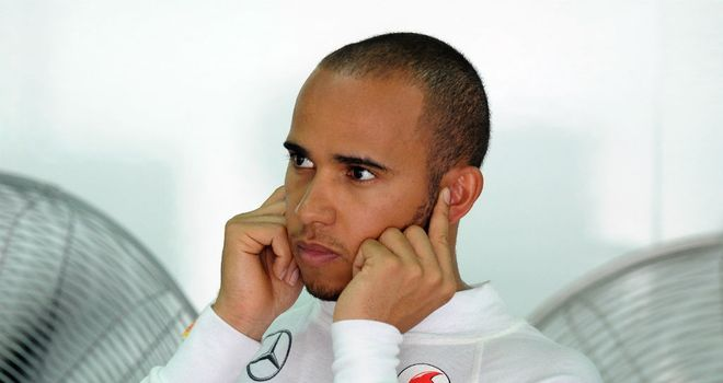 Lewis Hamilton: Two poles but no wins in 2012