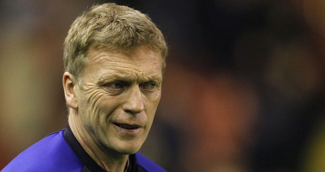 David Moyes: A leading contender for the vacant managerial post at Tottenham
