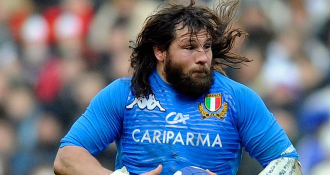 Martin Castrogiovanni: Recovered from fractured ribs and will line up against Scotland