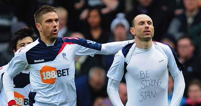Martin Petrov: Bolton winger scored a penalty and then revealed message to his ill friend