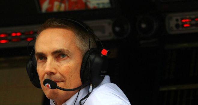 Martin Whitmarsh: Hoping to turn pole position into victory at Australian Grand Prix