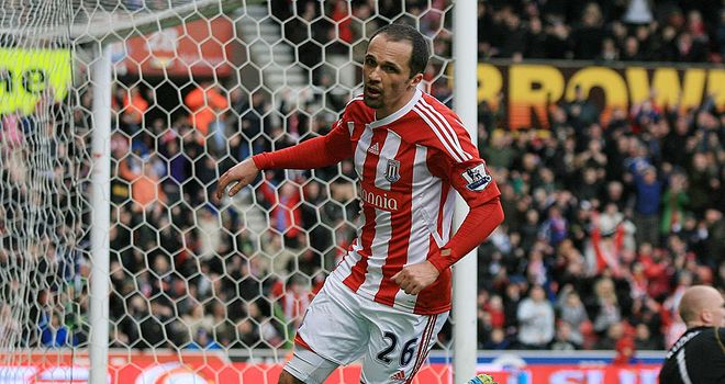 Matthew Etherington: The Stoke City winger is struggling to be fit for weekend games against Wolves and Aston Villa