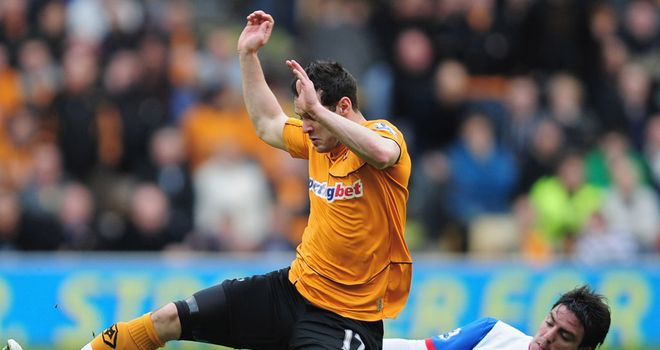 Matt Jarvis: The Wolves winger has been linked with a move to various Premier League clubs