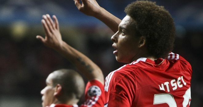 Axel Witsel: Is good enough to play in Europe's top leagues, according to his manager Manuel Rui Costa