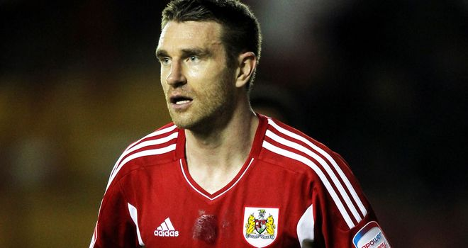 Stephen McManus: Spent three months at Bristol City