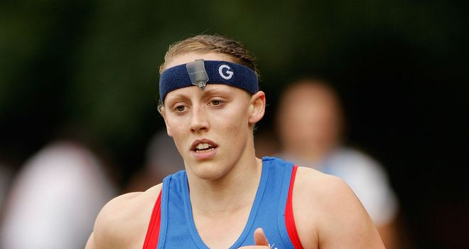 Mhairi Spence: The Olympic hopeful wants to inspire others this year