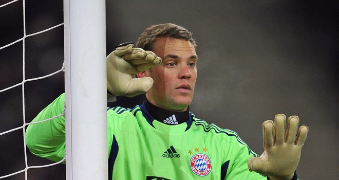 Manuel Neuer: The kepper helped Bayern Munich reach the German Cup final