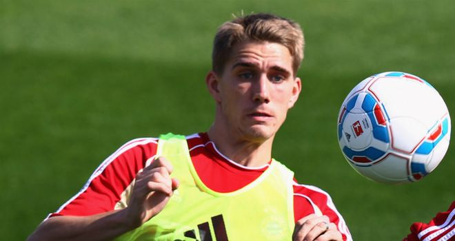 Nils Petersen: The Bayern Munich striker will spend the whole of the 2012/13 season with Werder Bremen