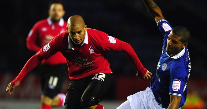 Adlene Guedioura: Praised Steve Cotterill for guiding Nottingham Forest to the verge of safety