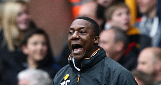 Terry Connor: Still looking for his first win as Wolves manager since replacing Mick McCarthy