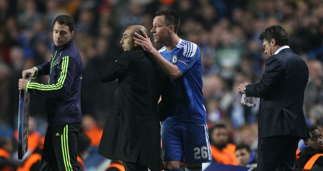 John Terry: Says Roberto Di Matteo has been 'exceptional' since taking charge