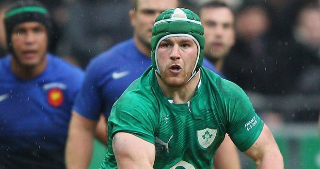 Sean O'Brien: Ireland ace has recovered from a foot infection