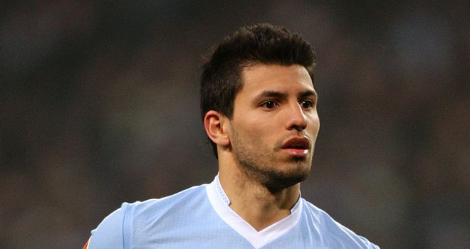 Sergio Aguero: The Argentine has missed the draws against Stoke and Sunderland