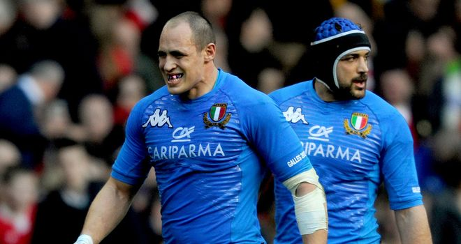 Sergio Parisse: Looking to end this season's Six Nations on a high with victory over Scotland