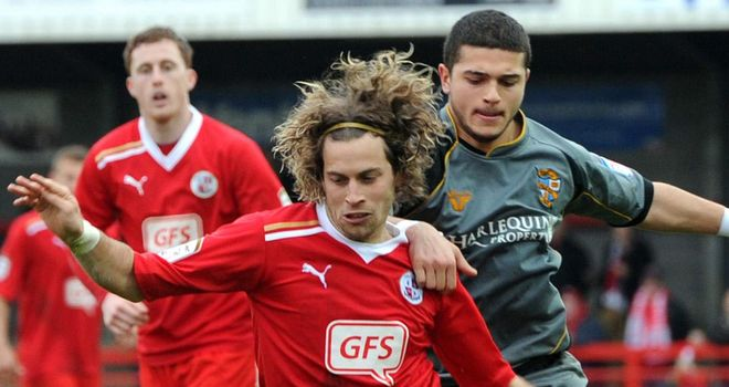 Sergio Torres: Pushing for a start for Crawley