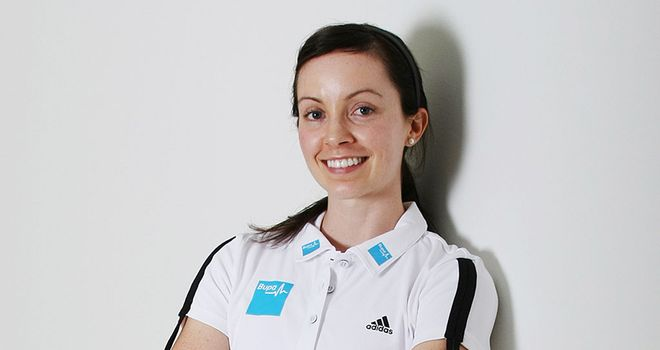 Stef Reid: Still buzzing from her silver medal success at the London Games