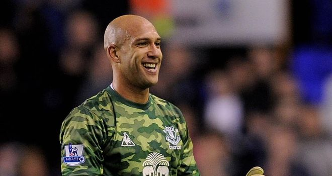 Tim Howard: Feels his side should forget derby loss ahead of Saturday's FA cup quarter-final