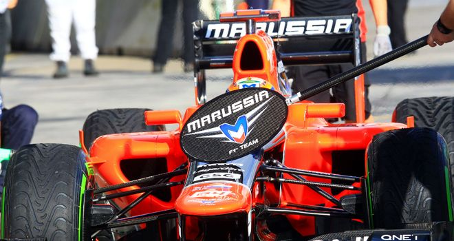 Marussia have been refining their car ahead of China