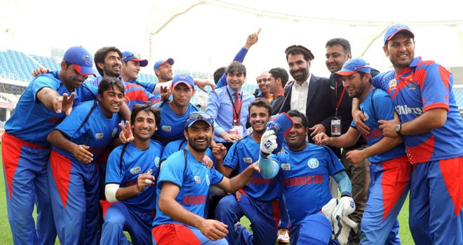 Afghanistan claimed spot at World T20 with eighth straight win