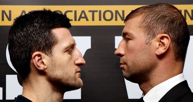 Carl Froch hopes his fight with Lucian Bute will signal upturn in British boxing