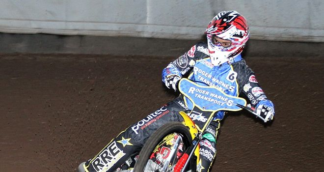 David Howe: Great form for King's Lynn (Pic credit speedway365)