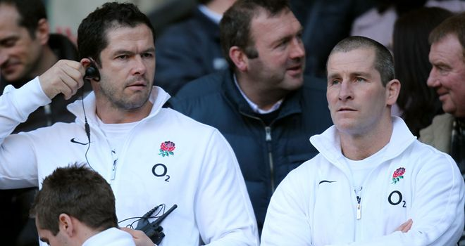 Andy Farrell impressed alongside Stuart Lancaster