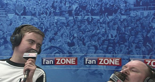 FanZone: Has made a free-transfer switch to TEAMtalk.com