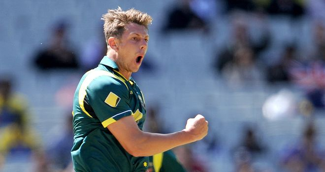 James Pattinson: Not in Australia's T20 squad