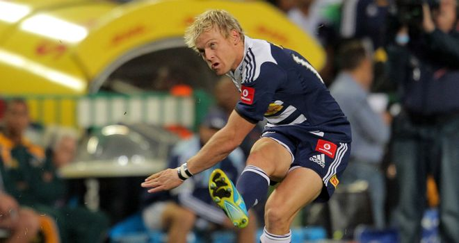 Joe Pietersen: kicked 17 points for the Stormers