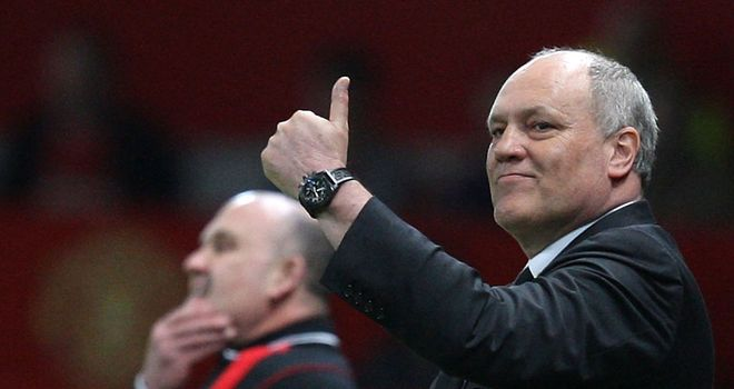 Martin Jol: Has Fulham flying high in the Premier League table