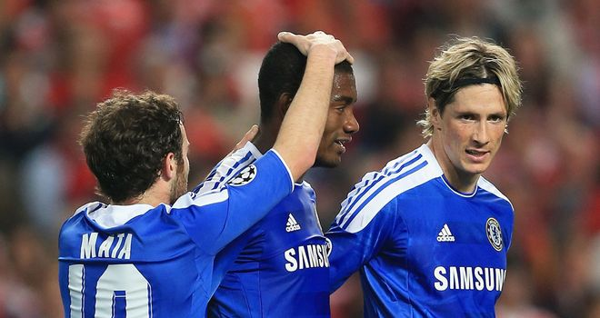 Salomon Kalou: Scored Chelsea's winner against Benfica in the Champions League