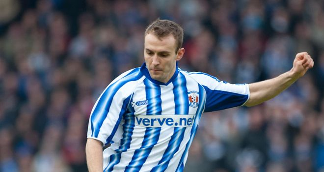 Liam Kelly: At the double for Kilmarnock