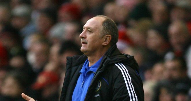 Luiz Felipe Scolari: Sacked by Palmeiras after nine defeats in their last 13 games