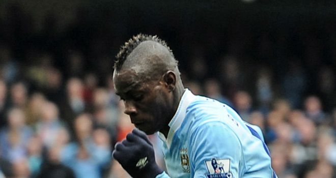 Mario Balotelli: Has escaped unharmed after a car crash in Manchester