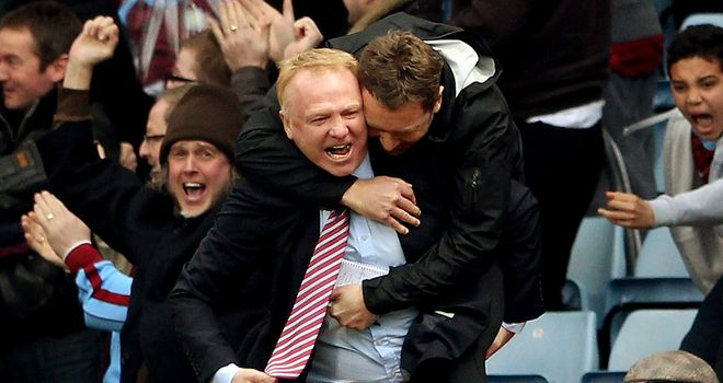 Alex McLeish: Finding it tough to convince Villa fans of his credentials