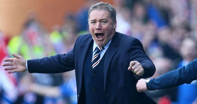 Ally McCoist: Furious with the SFA's sanctions on Rangers