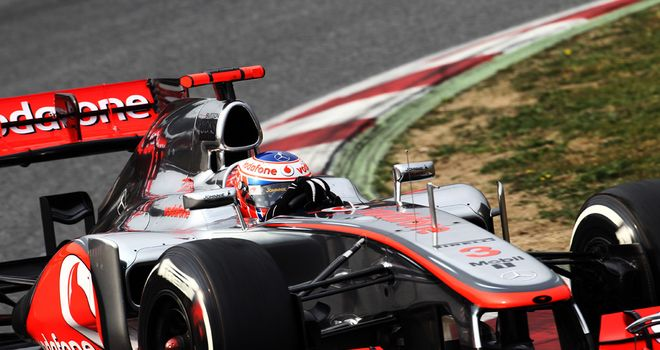 Jenson Button: Limited running in updated McLaren on Saturday