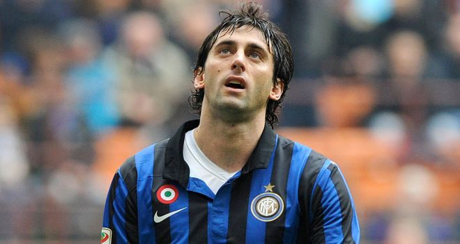 Diego Milito: Inter striker done for the season with serious knee injury