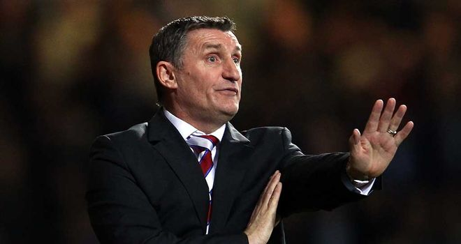 Tony Mowbray: wants to consolidate league position