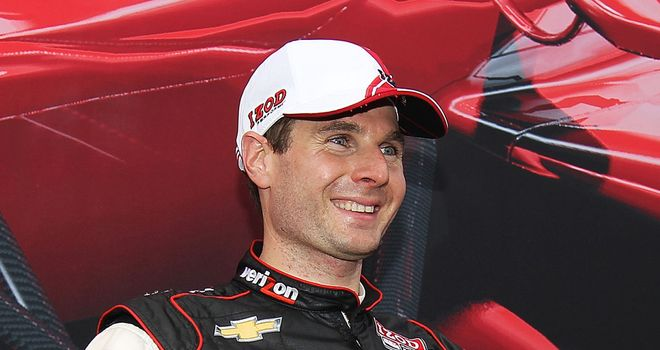 Will Power: Started in ninth on grid