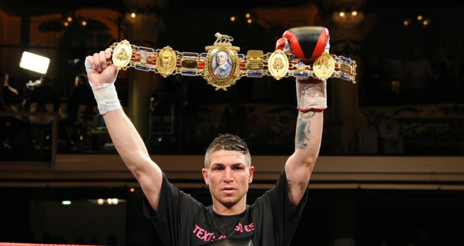 Brian Rose: Will get to keep the Lonsdale Belt after beating Sam Webb (Pic Leighdawneyphotography.com)