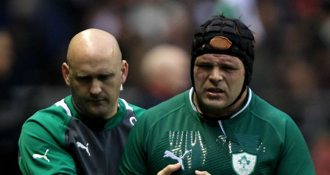 Mike Ross: Ireland prop has hamstring strain