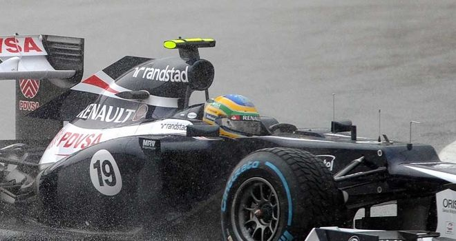 Bruno Senna: Charged to sixth at Sepang